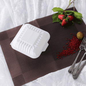 Biodegradable Compostable Hamburger Box Container