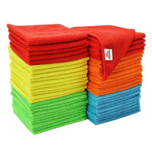 Factory source Pizza Box Supplier - Microfiber Car Wash Cleaning Cloth Towel – CHUNKAI