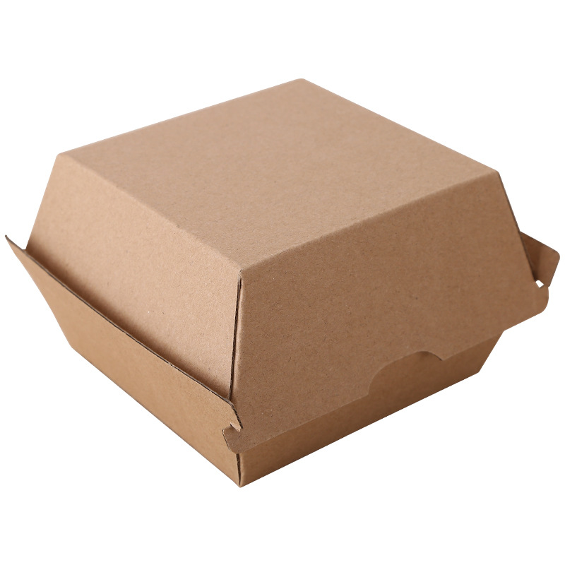 Factory Cheap Hot Customized Cardboard Paper Box - Corrugated Disposable Fast Food Burger Box – CHUNKAI