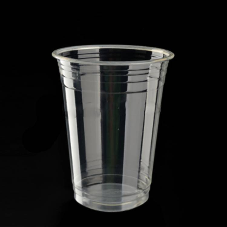 OEM/ODM China Biodegradable Chocolate Box - Transparent Biodegradable PLA Cup with Lid – CHUNKAI