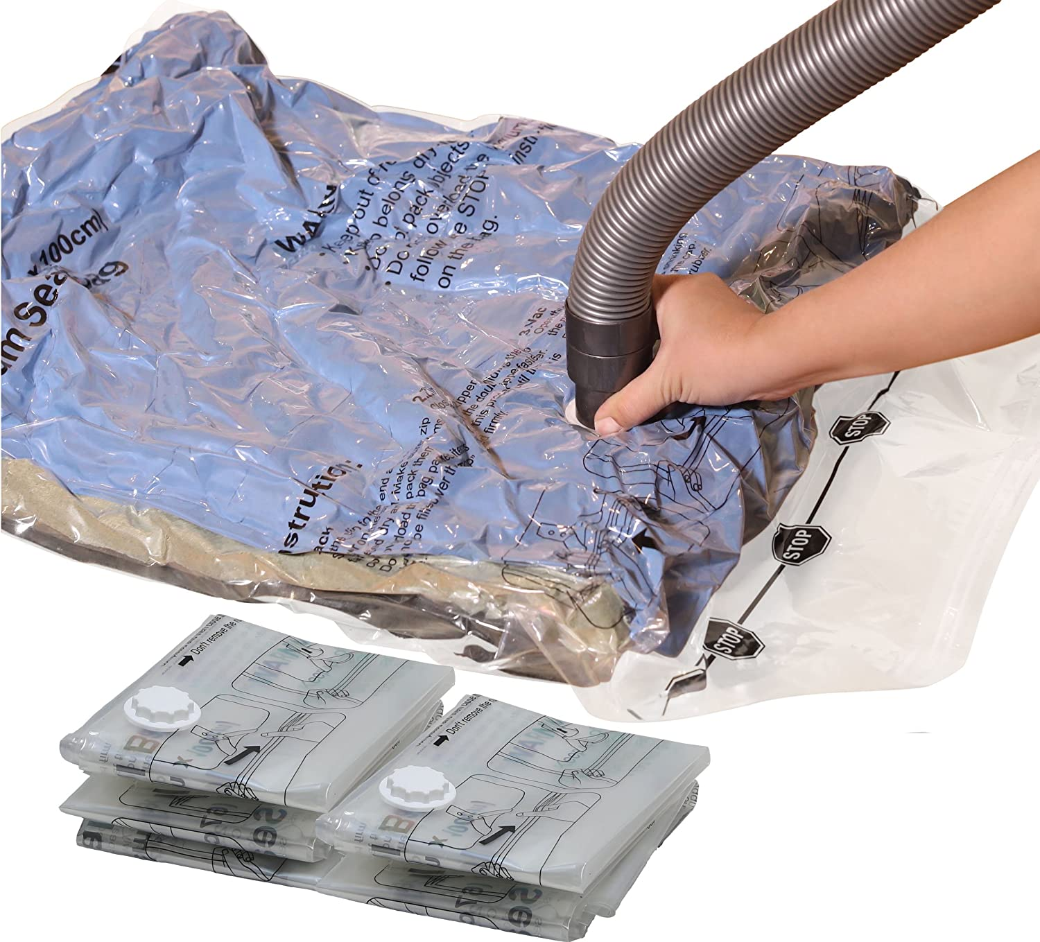 Low price for Small Plastic Water Bottles - Vacuum Storage Bags to Space Saver – CHUNKAI