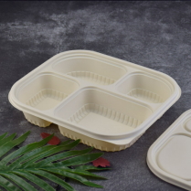 Disposable Biodegradable Corn Starch Food Containers