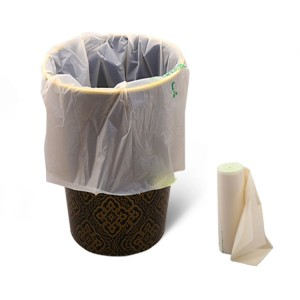 Super Lowest Price Biodegradable Straws Pla - Biodegradable PBAT PLA Garbage Bag – CHUNKAI