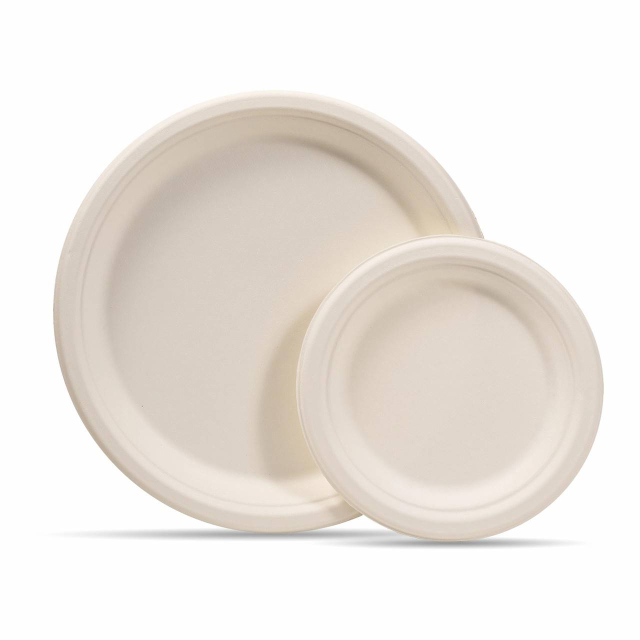 100% Biodegradable Sugarcane Pulp Bagasse Plate Featured Image