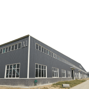 Prefab H beam H column building prefabricated warehouse steel structure