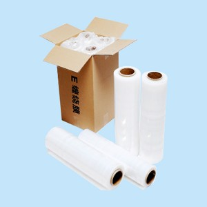 Discount wholesale Black Shrink Film - Transparent color 23 Micron LLDPE Stretch Film for Pallet Wrapping – GS PACK