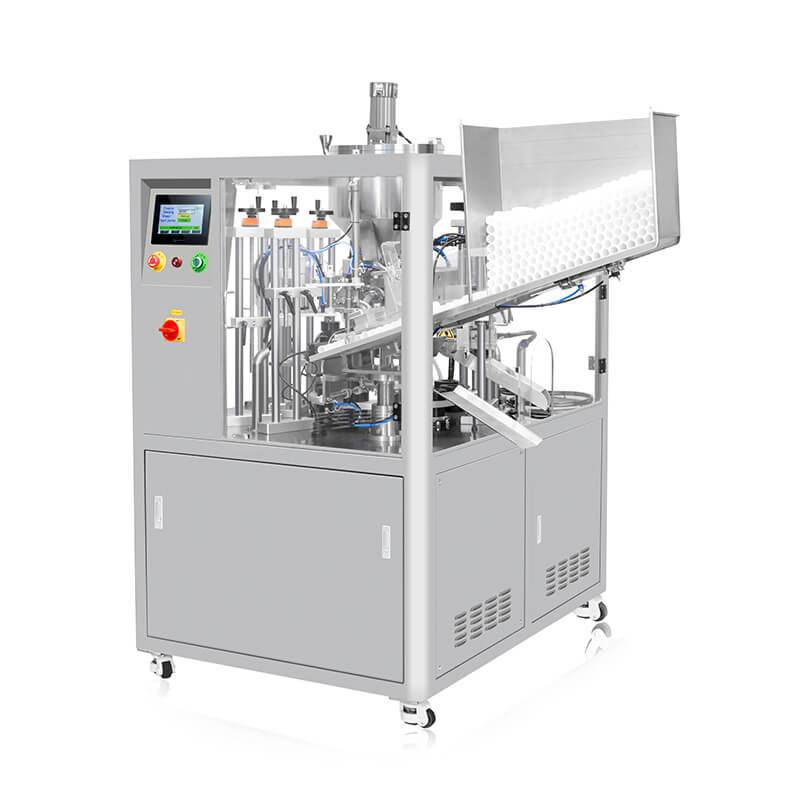 Original Factory Glass Bottles Filling Machine - Automatic Ultrasonic Tube Filler And Sealer HX-009 – HX Machine