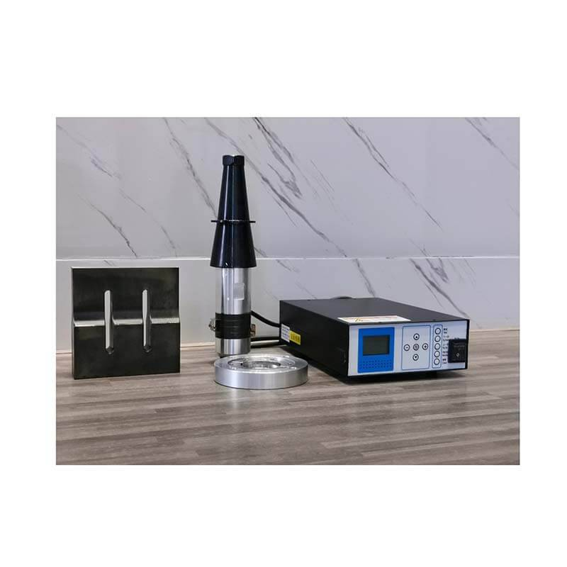 New Arrival China 15khz Ultrasonic Generator - Whole set of ultrasonic system, including generator, transducer, horn and flange plate – HX Machine