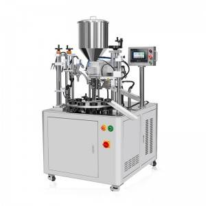 Semi-auto Ultrasonic Tube Filler And Sealer  HX...