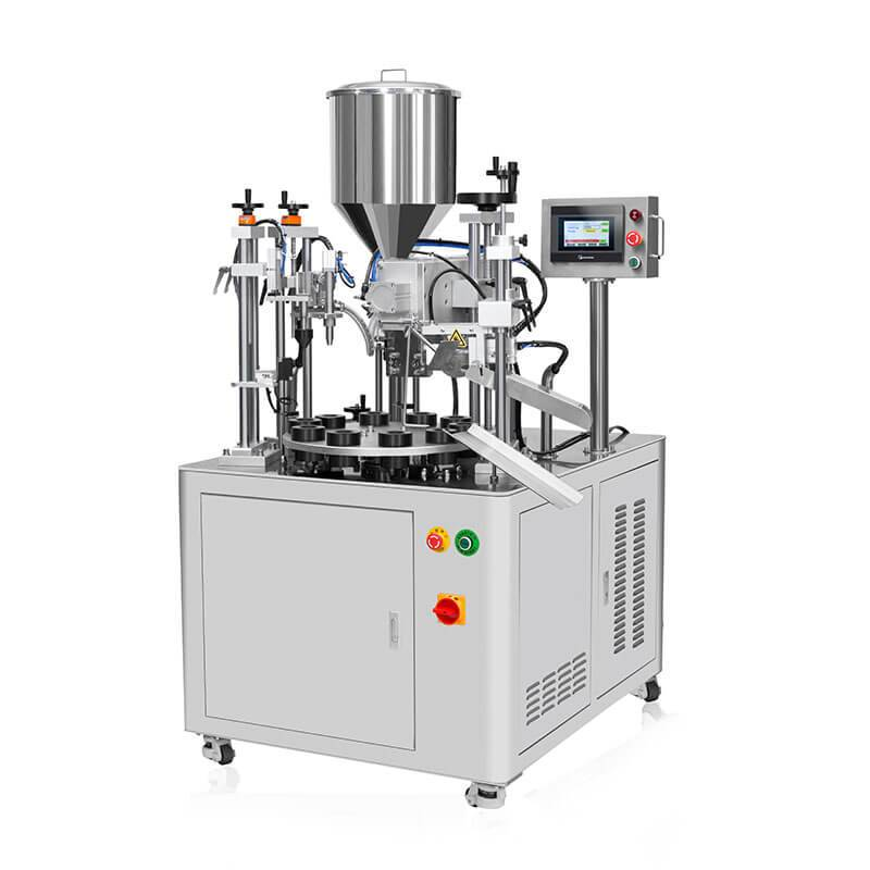 Hot sale Hand Cream Tube Filling And Sealing Machine - Semi-auto Ultrasonic Tube Filler And Sealer  HX-006 – HX Machine