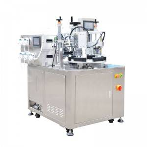 OEM/ODM Supplier Foot Pedal Sealing Machine - 5 in 1 Tubes Filler And Sealer  HX-005 – HX Machine