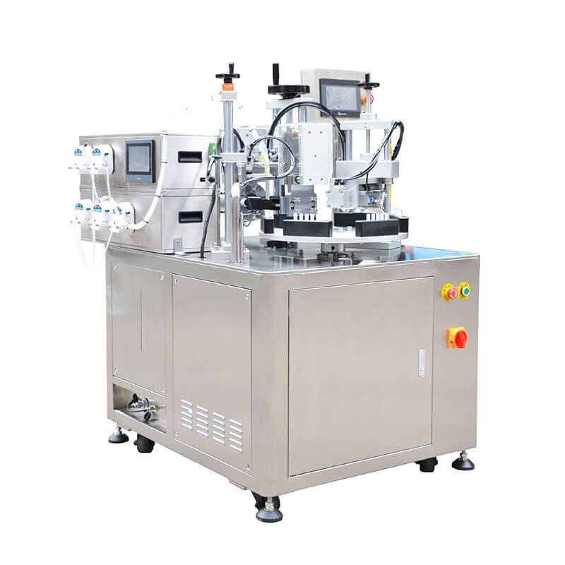 PriceList for Metal Tube Sealing Machine - 5 in 1 Tubes Filler And Sealer  HX-005 – HX Machine