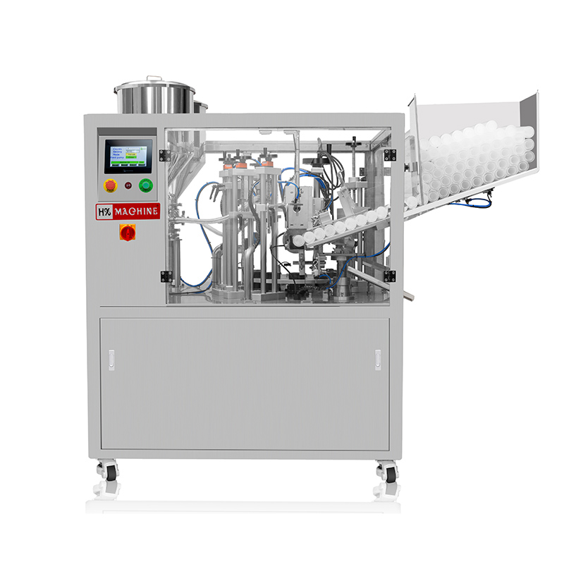 Hot sale Seal A Tube - Double tube filling and sealing machine  HX-009S – HX Machine