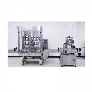 China OEM Filling Machinery - Automatic Bottle Filling And Capping Machine  HX-20AF – HX Machine