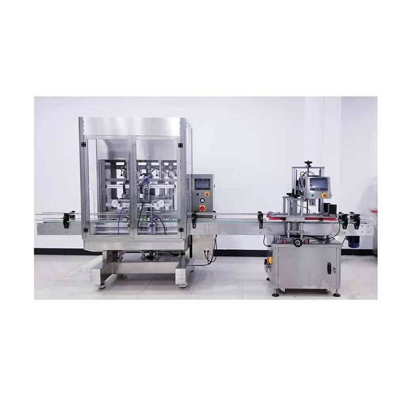 2020 China New Design Glue Filling Machine - Automatic Bottle Filling And Capping Machine  HX-20AF – HX Machine detail pictures