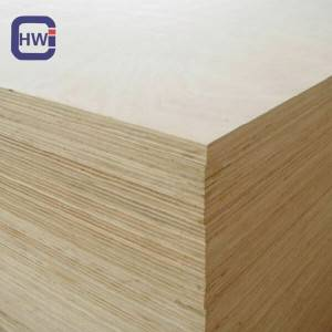 HW  18MMx4x8 Poplar Core Commercial Birch Veneer Plywood