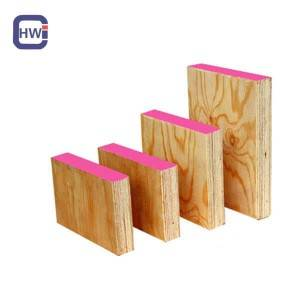 High Performance Lvl 17 - 38 x 225mm OSHA proof tested WBP phenolic glue radiata pine LVL scaffolding plank for construction – Changyu
