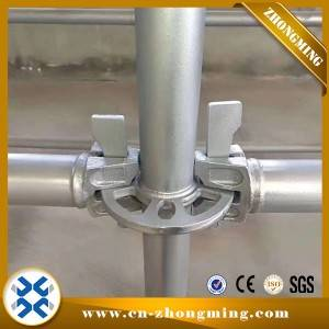 China Manufacture Hot Dipped Galvnaized Ringlock Scaffolding