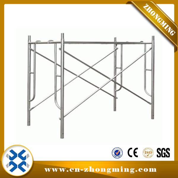 Manufacturer for Scaffolding Parts Jack Base - Frame scaffolding – Zhongming