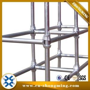 China Factory Supply HDG Painted Galvanzied Cup Lock Scaffolding Standard Vertical Cuplock for Construction