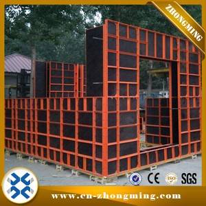Original Factory Construction Marine Plywood - 63#steel formwork – Zhongming