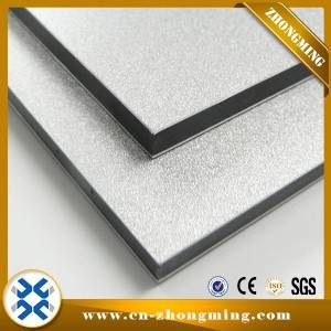Fireproof Aluminum Composite Panel - Polyester Coated Aluminium Composite Panel – Zhongming
