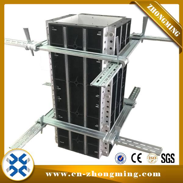 Special Price for Slab Formwork System - Plastic square column formwork – Zhongming