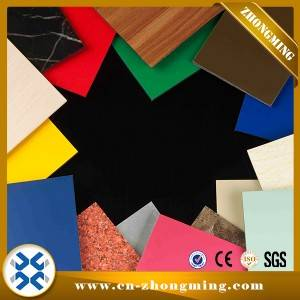 Chinese Professional Pure Aluminum Composite Panel -  ACP – Zhongming