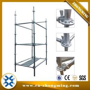 Adjustable Screw Jack Base Scaffolding - Ringlock Scaffolding – Zhongming