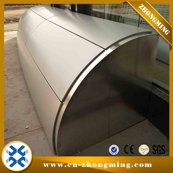 Exterior Aluminum Wall Panel - Circular Aluminum solid panel – Zhongming