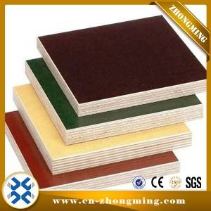 High reputation Concrete Aluminum Formwork - PLYWOOD – Zhongming