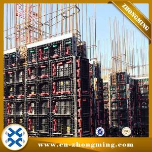 Concrete mould Wall Slab Plastic formwork for concrete pouring