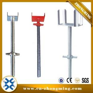 Adustable Galvanized Shoring U Head and Fork Head in Scaffolding