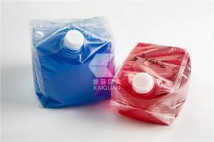 2020 wholesale price Cube Bags - Plastic package liquid fertilizer bag in box with vent cap – Kaiguan