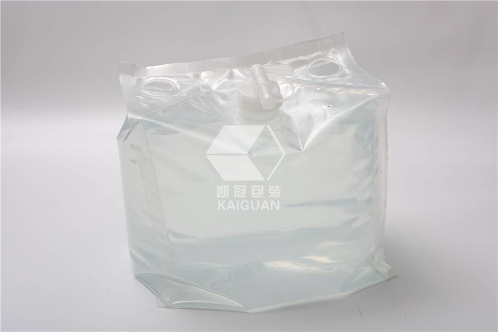 China OEM Flexible Cheertainer Soft Cubitainer Bag In Box - Liquid soap and shampoo package cheertainer bag in box – Kaiguan