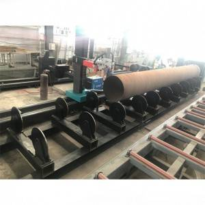 Rollerbed Large Diameter CNC Pipe Cutting Beveling Machine For Steel