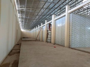 insulated door cold room for mushroom with pu sandwich panels