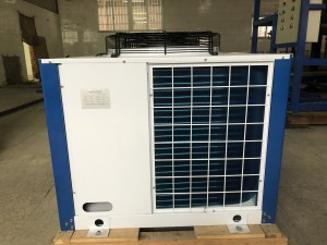 High quality water and air coold Bitzer condensing unit 4HE-18 Semi-Hermetic Compressor for cold room