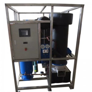 Tube ice machine-Water Cooled-3T