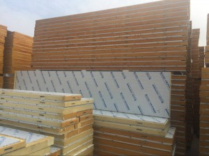 Polyurethane / PIR insulated panel for cold room