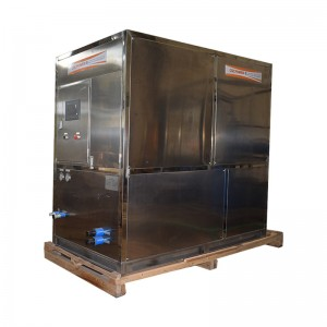 industrial cube ice machine-2T