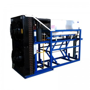 direct cooling block ice machine-2T