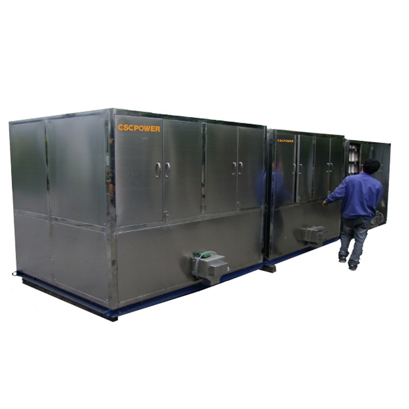 industrial cube ice machine-10T Featured Image