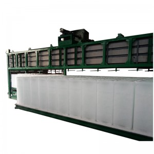 direct cooling block ice machine-20T