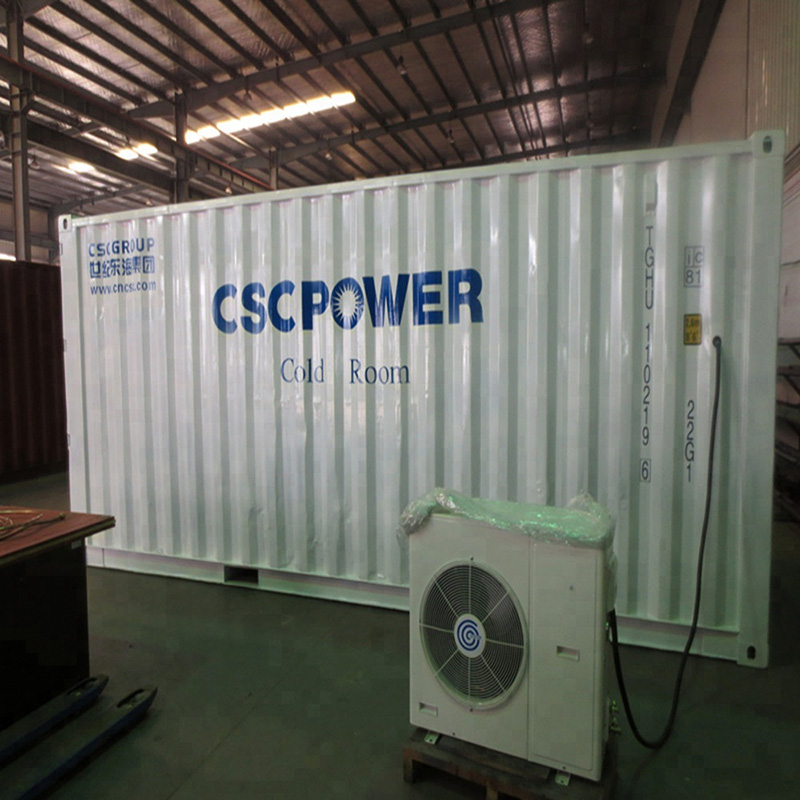 40hq 40 feet cold room container for meat chiller and freezer for sale Featured Image