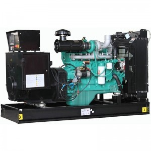 200kw 250kva open diesel generator with cummins engine