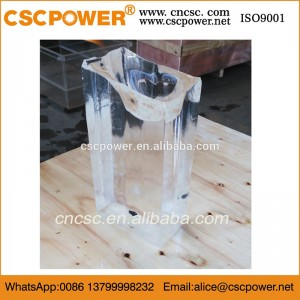 5T clear/transparent block ice making machine