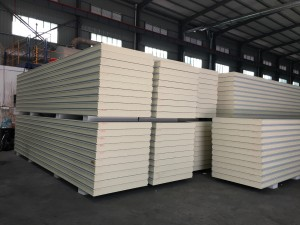 Low price cold room refrigerator freezer PU sandwich panel