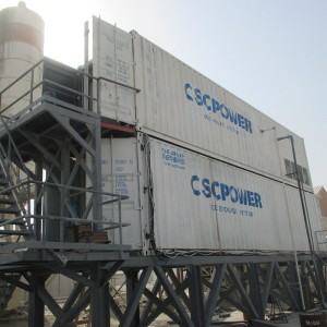 Cscpower 20T with 40T storage concrete cooling system best quote