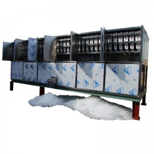 industrial cube ice machine-10T